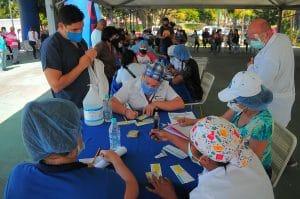 Aplicadas 1.200 vacunas contra el Covid 19 en Carabobo